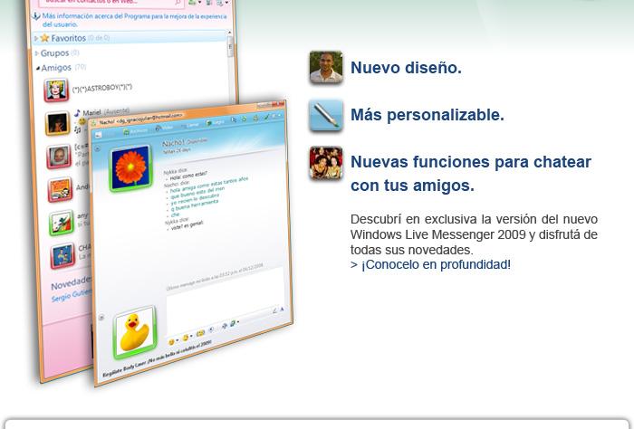letras para el windows live messenger: