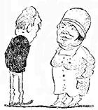Caricatura de la revista Caras & Caretas