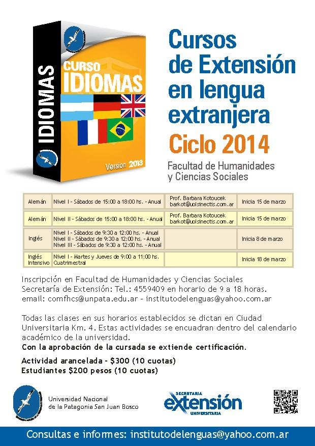 newsletter 1 idiomas 2014